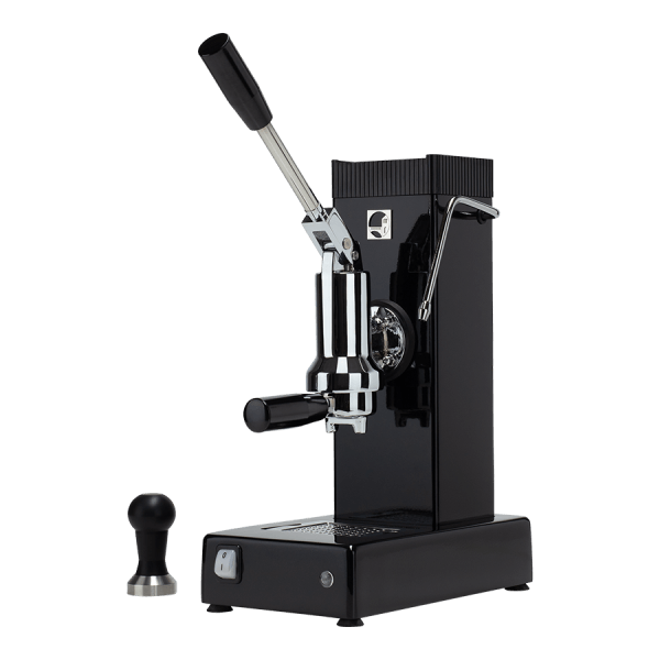 macchina per caffè a leva export nera