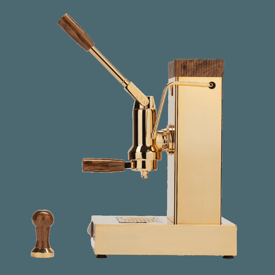 design macchine da caffè export color oro