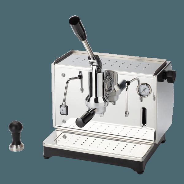 macchina per caffè a leva lusso 1 gruppo argento