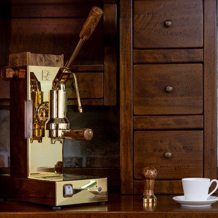 macchina caffè a leva
