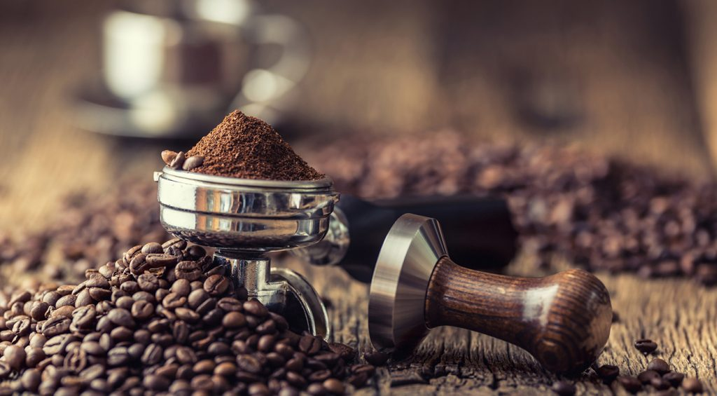 make a coffee as good as at the bar with the right blend