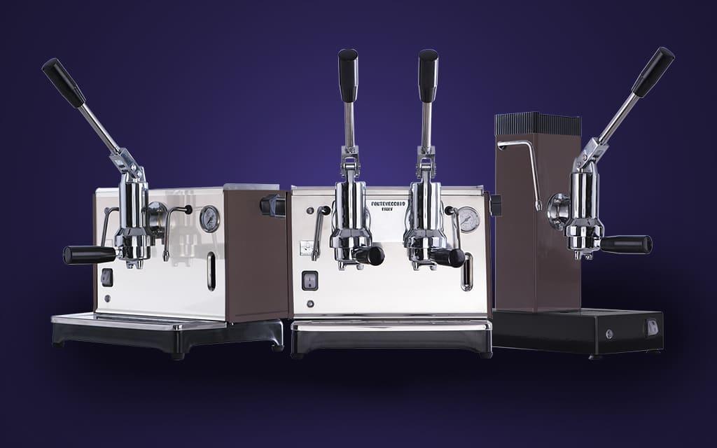 produttori di macchine da caffè a leva