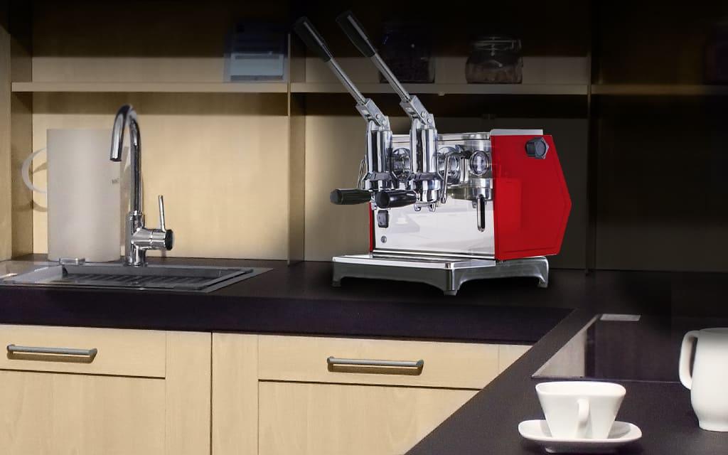 macchina da caffè moderna a due bracci Pontevecchio