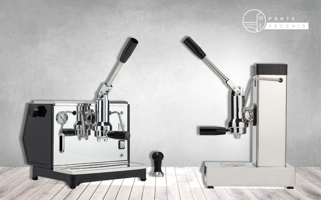 lever coffee machine made in Italy