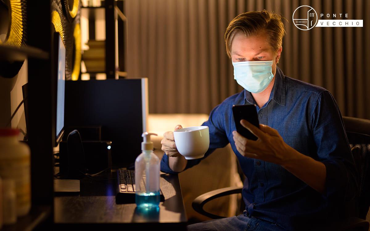 caffè e corona virus