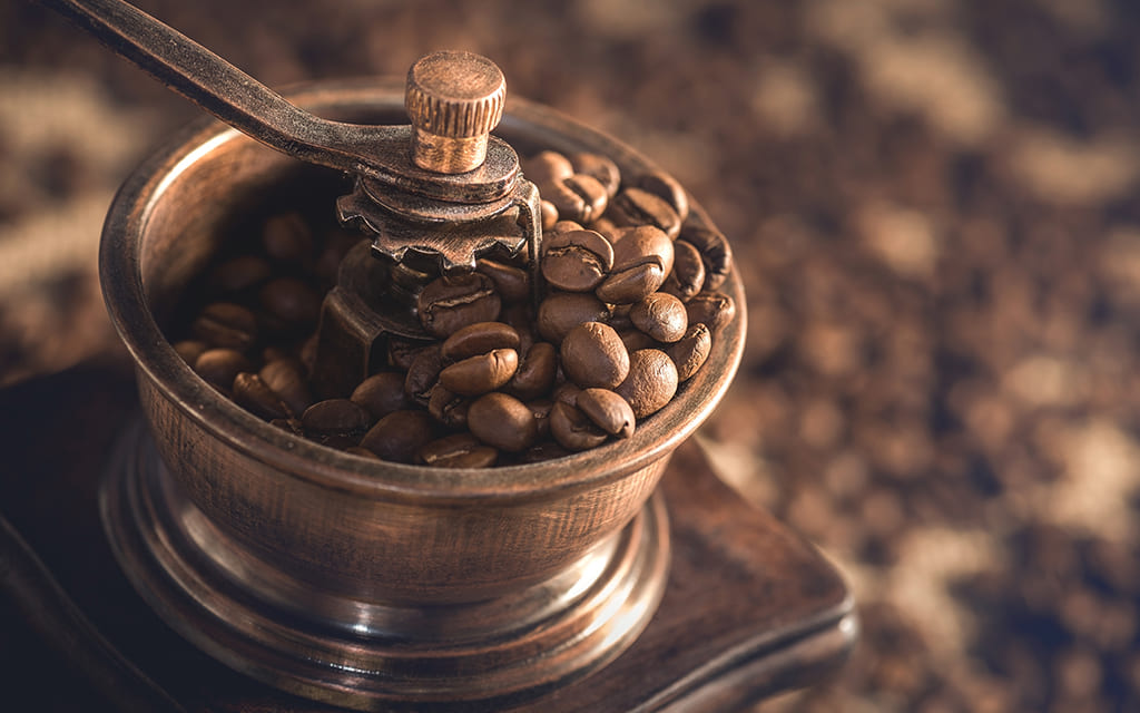 ground coffee or beans