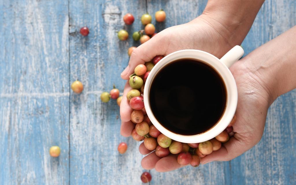 foto caffè servito a casa