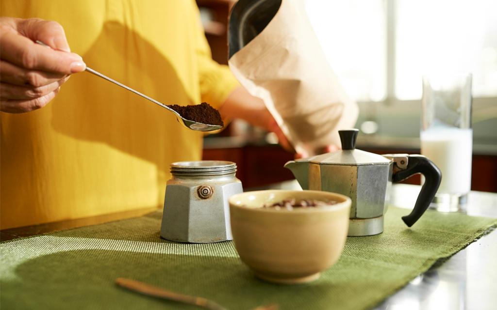 moka coffee preparation