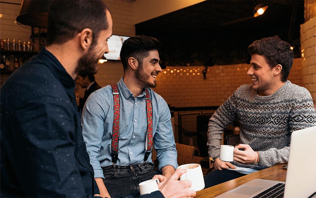 caffè espresso bevuto al bar