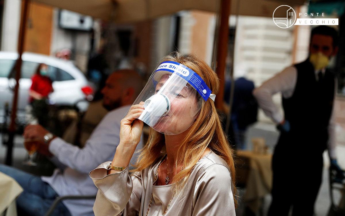 covid-19 test aroma caffè