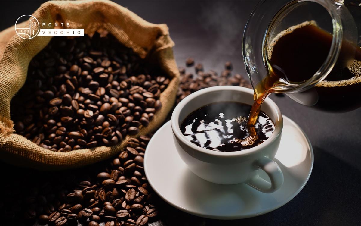 caffè americano in casa
