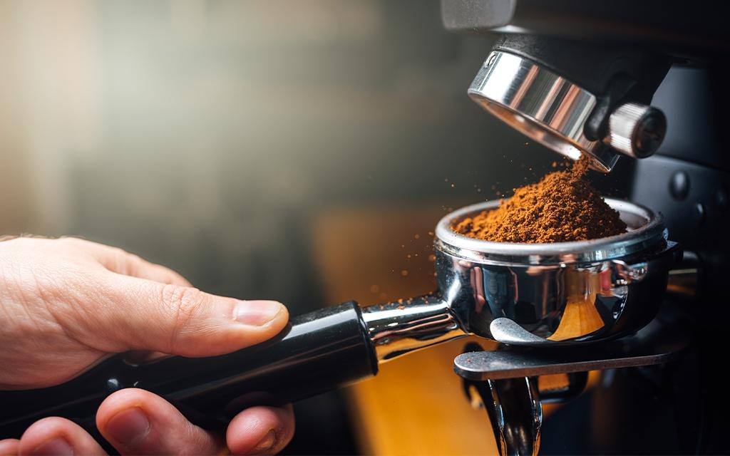 preinfusione caffè procedimento macchina