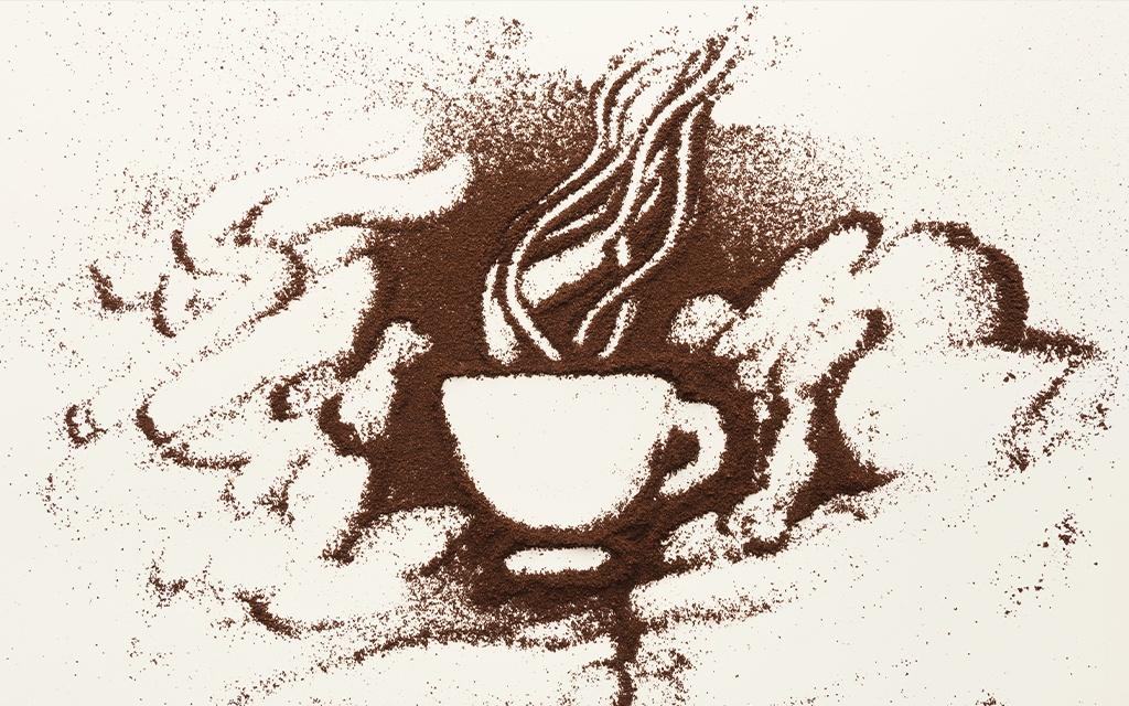 preinfusione caffè poster
