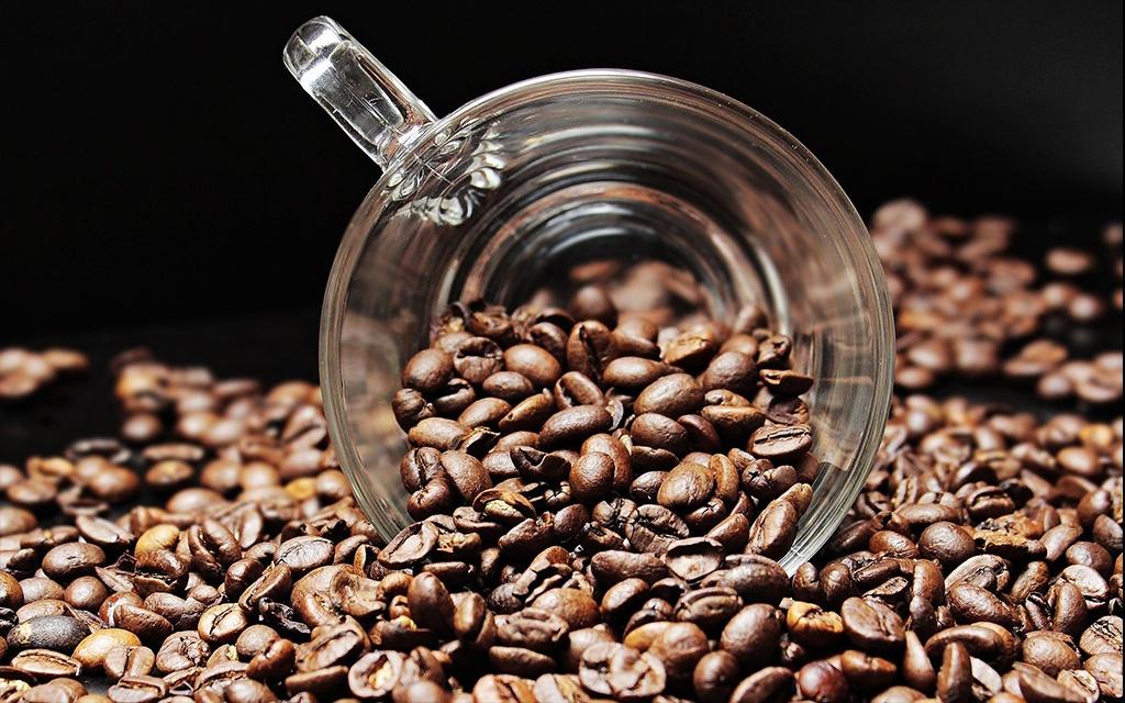 homemade American coffee beans