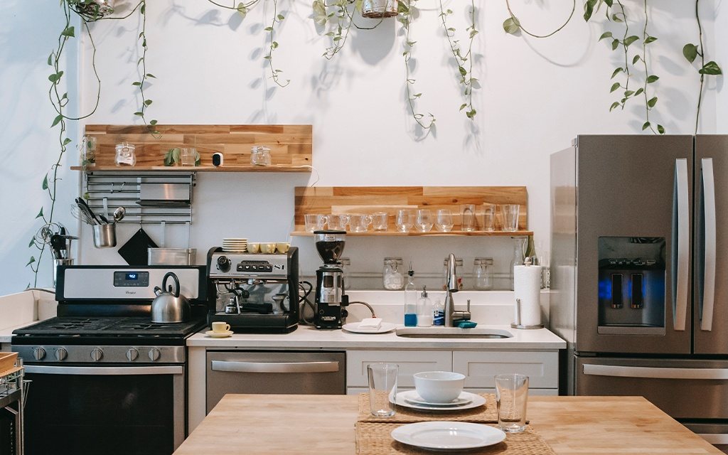 coffee home bar in your kitchen