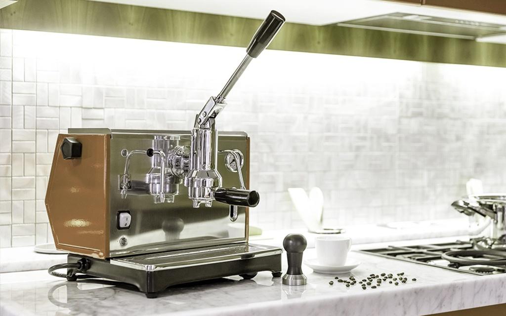 macchina caffè a leva lusso pontevecchio per cappuccino