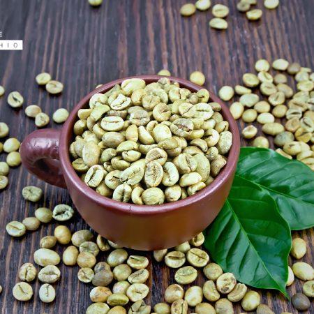 chicchi caffè verde