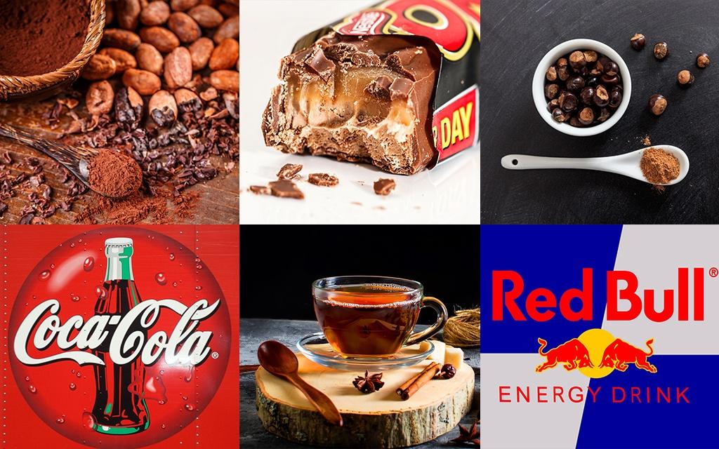 alimenti che contengono caffeina